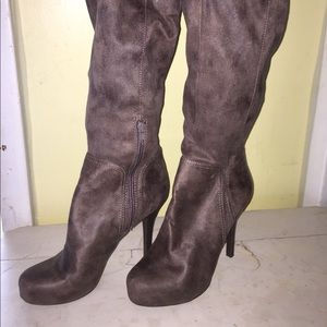BCBG High-Heel Over the Knee Boot